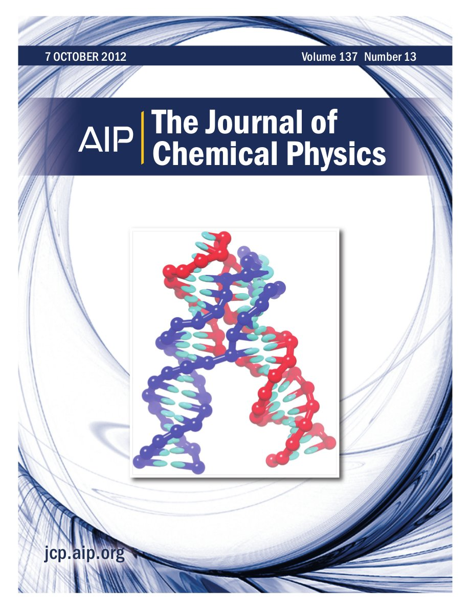 Cover of J Chem Phys, volume 137, issue 13