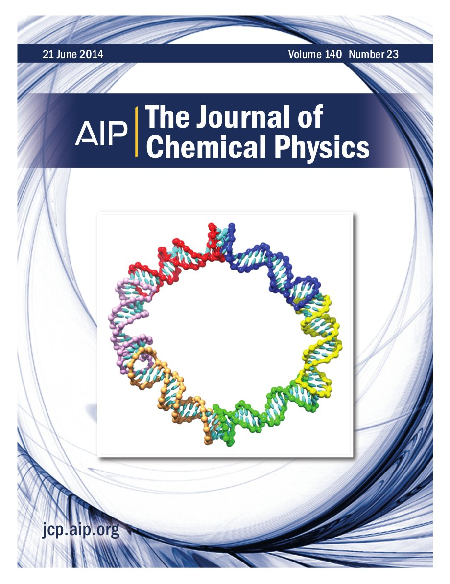 Cover of J Chem Phys, volume 140, issue 23