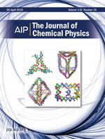 Cover of J Chem Phys, volume 142, issue 16