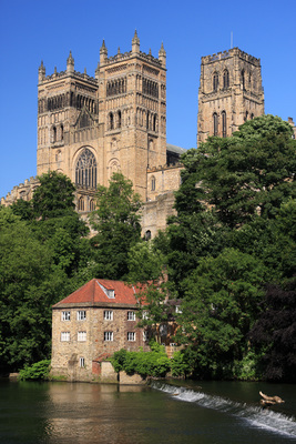 Durham Cathedral and the River Wear; photo by Mark Miller